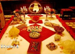 Table de mariage perse