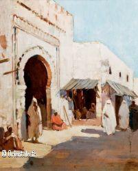 Marché algérois ancien (peinture)